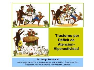 Trastorno por Déficit de Atención-Hiperactividad - Sociedad de ...