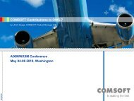 COMSOFT Contributions to OWS-7 AIXM/WXXM Conference May ...