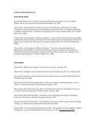 Dr. Marian Hillar Publication List MOST RECENT BOOKS Marian ...