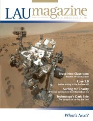 Spring 2013 - LAU Publications - Lebanese American University