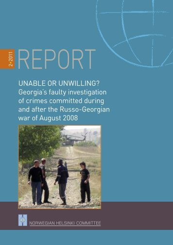 Unable or Unwilling? georgia's faulty investigation of crimes ...