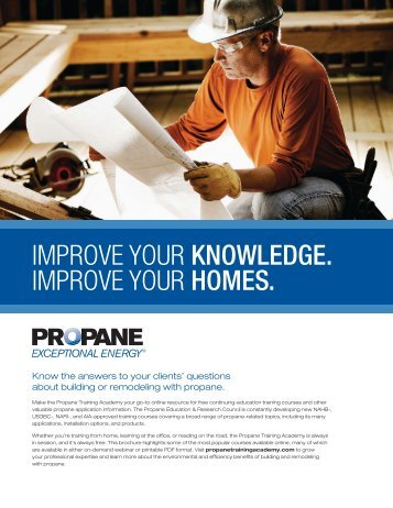 improve your knowledge. improve your homes. - BuildWithPropane ...