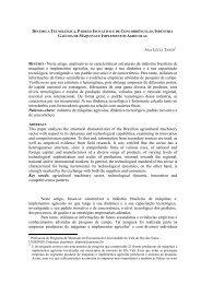 RESUMO - Neste artigo, analisam-se as características estruturais ...