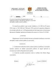 Ordin nr. 9 din 17.01.2009 cu privire la aprobarea Regulamentului ...
