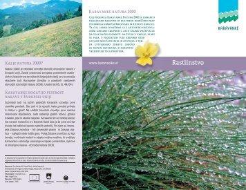 Karavanke Natura 2000 Rastlinstvo