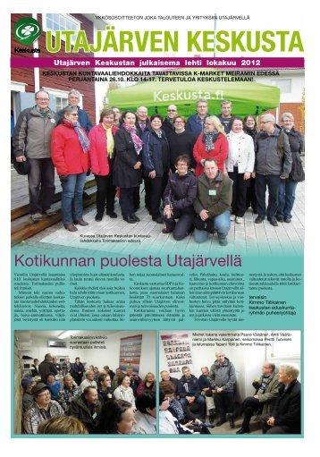 Utajärven Keskusta kuntavaalilehti lokakuu 2012 - Pudasjärvi-lehti ...
