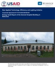 Energy Audit Report of the General Hospital Building in ... - Tkibuli Tea