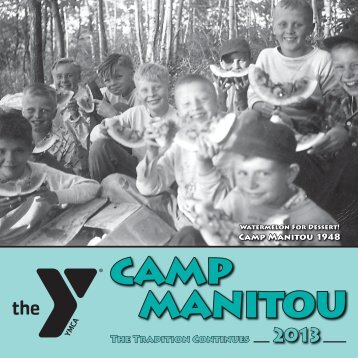Part 1 of 2 - YMCA Camp Manitou