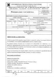 Probabilidad y Estadística (LOI) - FRBB - UTN - Universidad ...