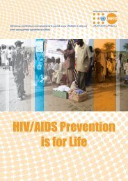 HIV/AIDS Prevention is for Life
