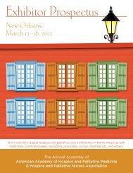 Exhibitor Prospectus - American Academy of Hospice and Palliative ...