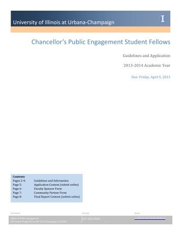 Download the complete 2013-2014 application packet (PDF)