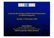 Corporate Governance of State-Owned Enterprises: an OECD ...