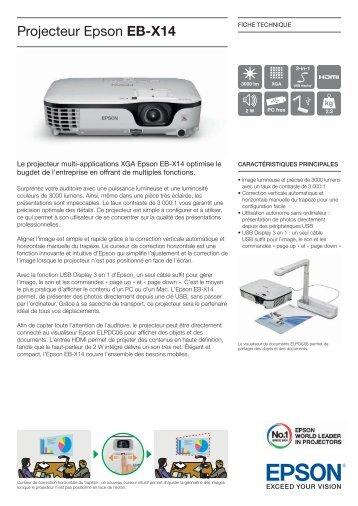 Projecteur Epson EB-X14 - Ais-info.fr