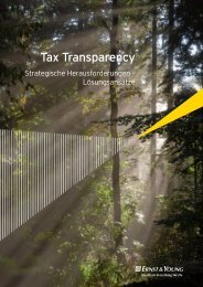 Tax Transparency - Schweiz