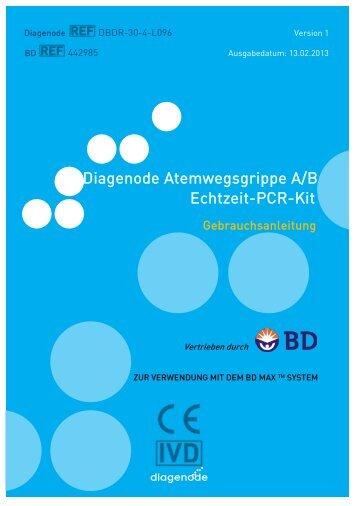 Diagenode Atemwegsgrippe A/B Echtzeit-PCR-Kit