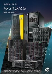 Storage brožúra - HP - Hewlett-Packard