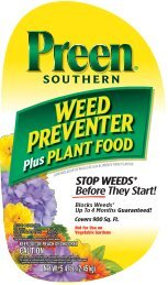 STOP WEEDS* Before They Start! - Preen.com