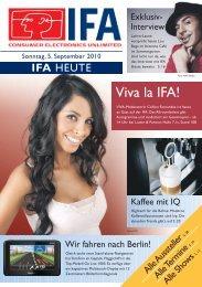 Viva la IFA!