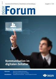 Ausgabe 12/11 - DGUV Forum