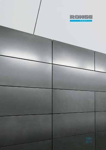 Unsere Imagebroschüre zum Download - Ronge Profil GmbH & Co ...