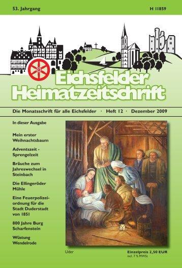 Dezember 2009 53. Jahrgang - Mecke Druck und Verlag