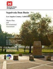 Sepulveda Dam Basin Master Plan - Los Angeles District - U.S. Army
