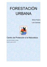 FORESTACIÓN URBANA - Centro de Protección a la Naturaleza