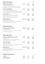 Flaschenweine Schaumwein - Strandhotel **** .: Ostsee Strand ...