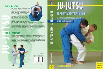 Ju-Jutsu Grün- und Blaugurt.