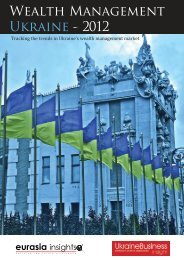 Wealth Management Ukraine - 2012 - Eurasia Insights