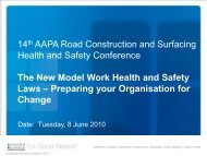 The New Model Work Health and Safety Laws
