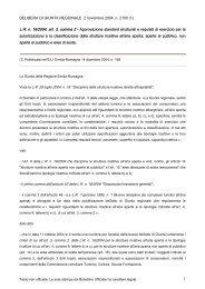 (1). LR n. 16/2004, art. 3, comma 2 - Comune di Argenta