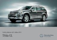 Třída GL - Mercedes-Benz PRAHA