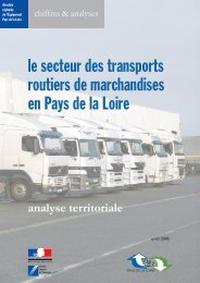 le secteur des transports routiers de marchandises en Pays de la Loire