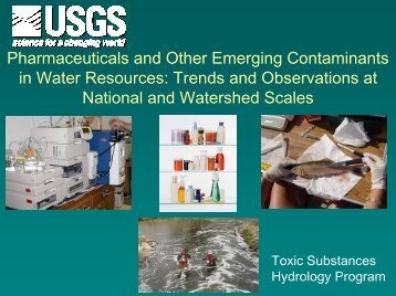 Pharmaceuticals and Other Emerging Contaminants in ... - NEIWPCC