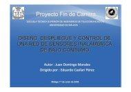 Proyecto Fin de Carrera - Universidad de Málaga