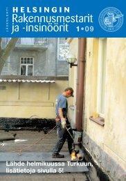 Yhdistyksen jäsenlehti 1/09, PDF tiedosto - Helsingin ...