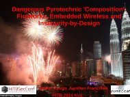 D2T1 - Andrei Costin - Fireworks, Embedded Wireless and Insecurity-by-Design