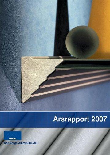 Årsrapport 2007 - Sør-Norge Aluminium AS
