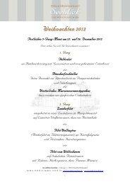 Weihnachten 2012 - StrandHotel Seeblick