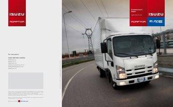 N Evolution Euro 5. Adaptor. Light-Duty Trucks Per informazioni - Isuzu