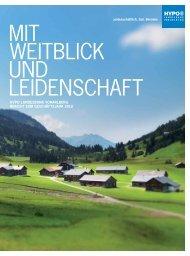 Geschäftsbericht 2012 - Hypo Landesbank Vorarlberg