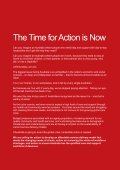 The Time for Action is Now! - Community Services & Health Industry ... - Page 3