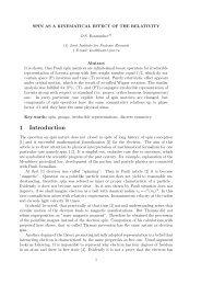 1 Introduction - JINR
