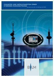 Download pdf - Bayerische Medien Technik GmbH