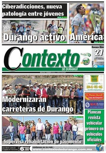 27/05/2013 - Contexto de Durango