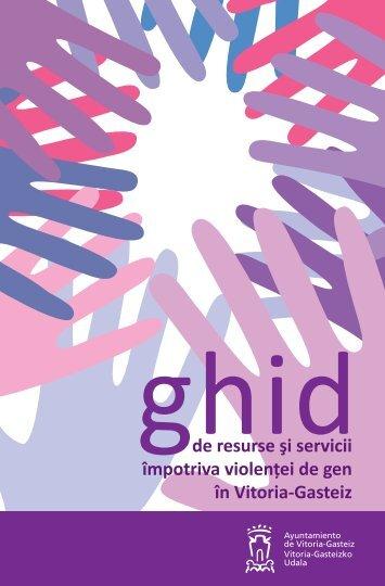 de resurse şi servicii împotriva violenţei de gen în Vitoria-Gasteiz