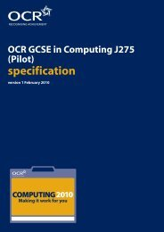 specification specification - PGCE