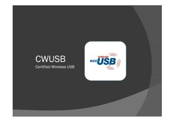 Certified Wireless USB